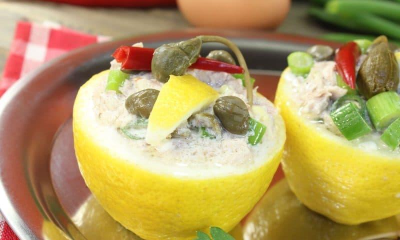 Citrons Farcis, Recette de chef
